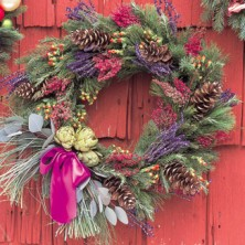 christmas-wreath-craft-decorate-aroma-dried-plants-fb